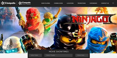 Cinepolis USA website image