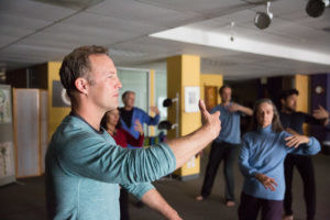 Lee Holden teaching a Qi Gong Workshop