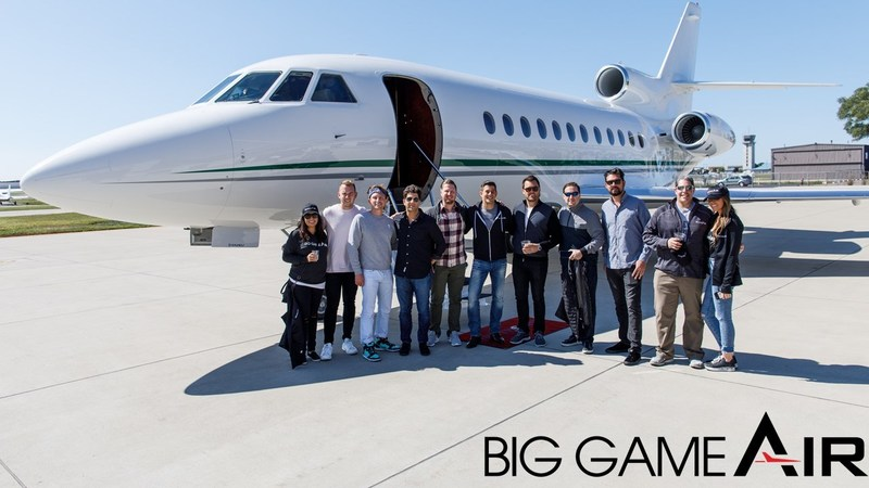 Big Game Air, first-of-its-kind provider of luxury game day travel kicks-off professional sport event flights