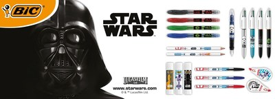 BIC Launches New Star Wars™ Stationery Range (PRNewsfoto/BIC)