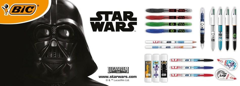 BIC Launches New Star Wars™ Stationery Range (PRNewsfoto/BIC)
