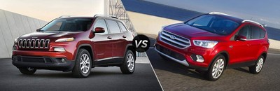 2017 Jeep Cherokee vs 2017 Ford Escape comparison