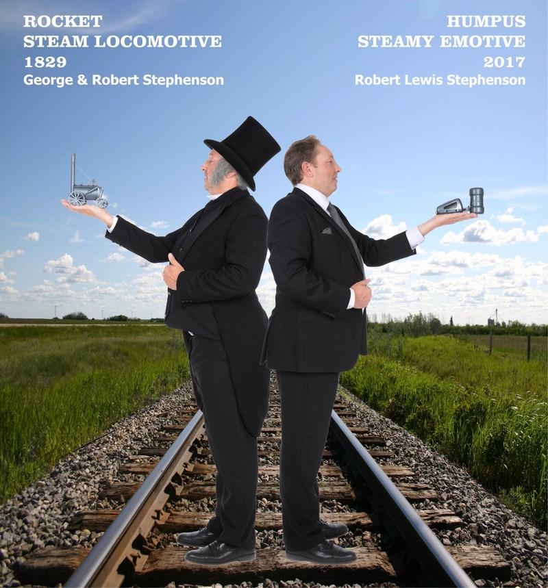 From George & Robert Stephenson's Steam Locomotive to Robert Lewis Stephenson's Steamy Emotive