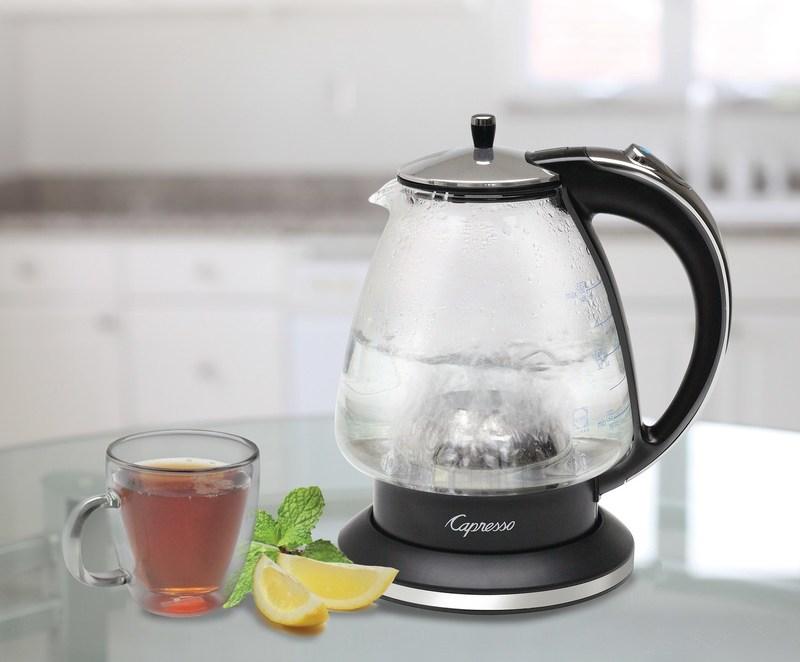 Capresso H2O Glass Rapid-Boil Kettle