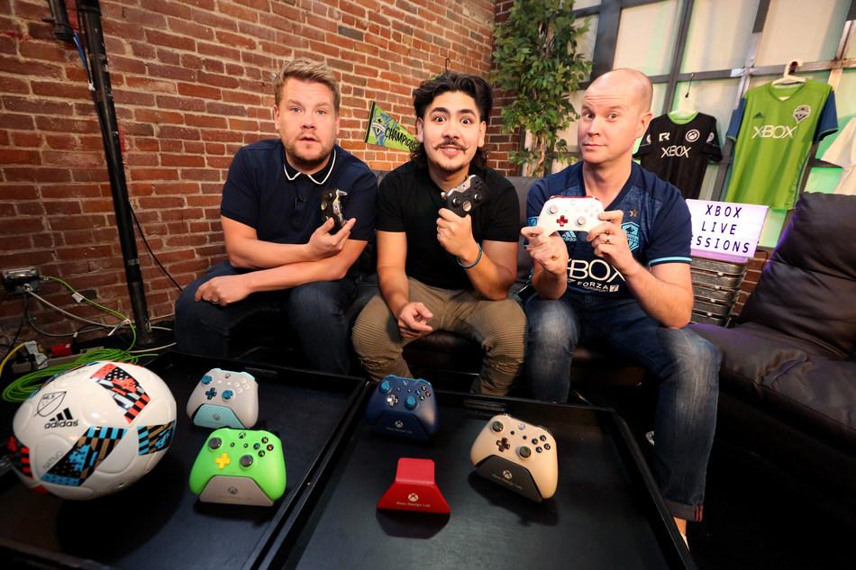 James Corden, Edwin Castro and Graeme Boyd host Xbox Live Sessions featuring FIFA 18