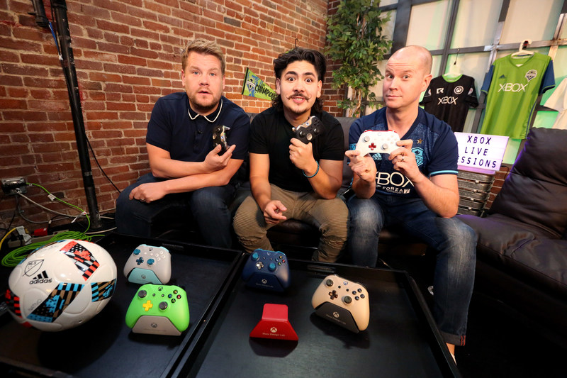 James Corden, Edwin Castro and Graeme Boyd host Xbox Live Sessions featuring FIFA 18