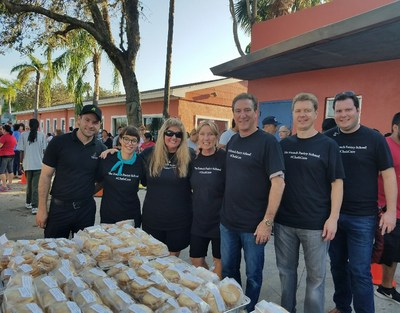 The French Pastry School Hurricane Relief Team spread sweet relief across Houston and South Florida to hurricane victims left stranded in shelters.  Efforts by the college are underway for Puerto Rico.