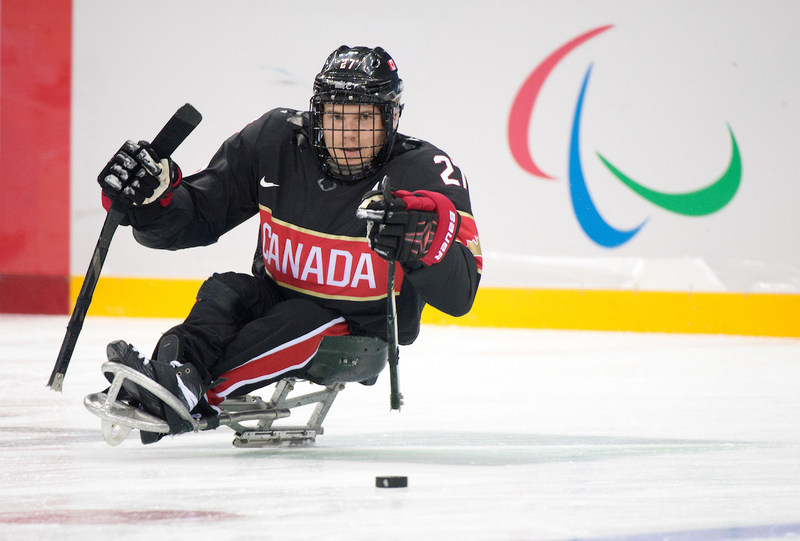 Brad Bowden, five-time Paralympian in Para ice hockey and wheelchair basketball (Athens 2004 gold medallist, Torino 2006 gold medallist, Sochi 2014 bronze medallist) will take part in PARALYMPIAN SEARCH Toronto. (CNW Group/Canadian Paralympic Committee (CPC))