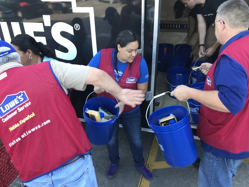 Lowe's is working with nonprofit partners and government agencies to determine immediate and long-term support needed by local communities.
