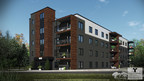 Espace Orsainville – A New Residential Development in Charlesbourg by ImDevCo and Fonds immobilier de solidarité FTQ (Gilles L. Tremblay Architecte) (CNW Group/Fonds de solidarité FTQ)