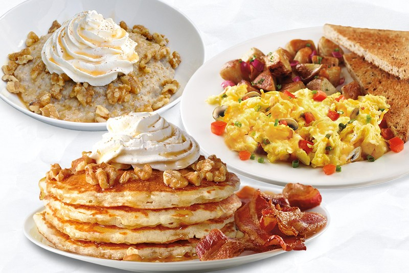 Corner Bakery Cafe debuts two new seasonal breakfast items - Pumpkin Spice Pancakes and Pumpkin Spice Oatmeal