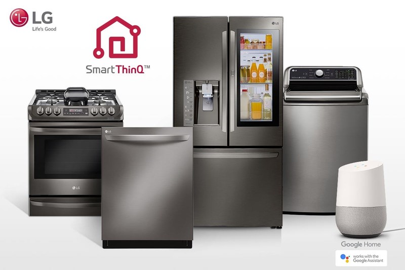 LG Electronics USA today announced that almost 87 Wi-Fi connected LG smart home appliances – including washing machines and dryers, refrigerators, ovens, dishwashers, vacuums, air purifiers and more – are now compatible with the Google Assistant on Google Home and eligible Android and iOS smartphones.