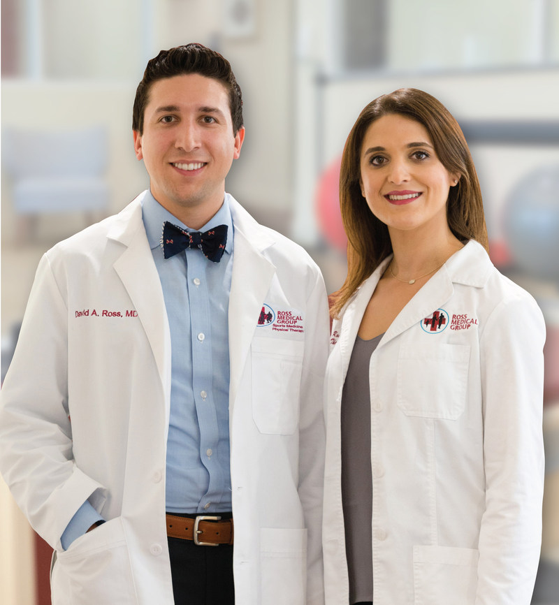 Ross Medical Group, announce the opening of its Primary Care Sports Medicine division headed by David A. Ross, MD and Dr. Monica Ross.