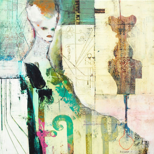 Artiste Dominic Besner, Ether Blanche (Groupe CNW/Galerie MX)
