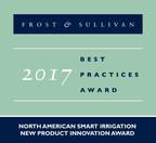 Frost & Sullivan Applauds Hortau for Its Novel Sensor-Based Smart Irrigation Technology