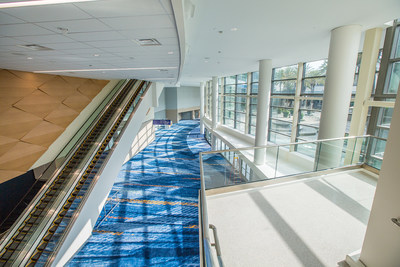 Entrance/Lobby View. ACC North, Anaheim Convention Center.