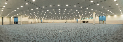 Level 100, ACC North, Anaheim Convention Center. 100,000 square feet of flexible space.