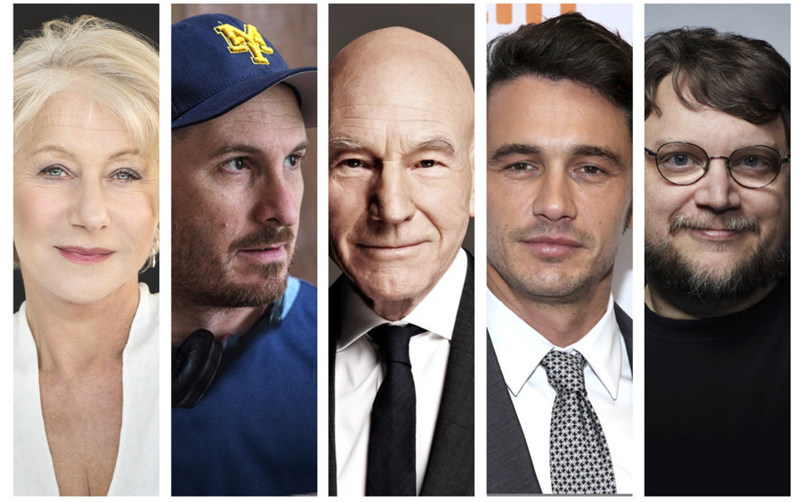 Helen Mirren, Darren Aronofsky, Patrick Stewart, James Franco and Guillermo Del Toro will appear on the Fall 2017 season of The Hollywood Masters, an acclaimed interview series filmed live at Loyola Marymount University.