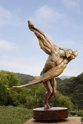 Richard MacDonald's heroic sculpture, The Grand Coda is the culmination of decades of work and will be on permanent exhibit in China.