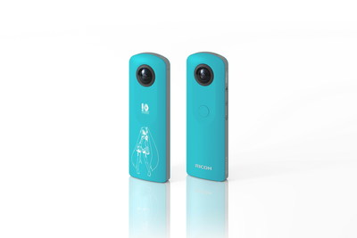 The limited-edition Ricoh Theta SC Hatsune Miku 360-degree camera and app is now available in North America.