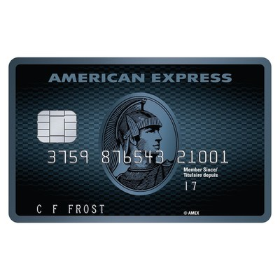 American Express Canada Cobalt Card (CNW Group/American Express Canada)