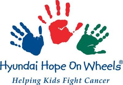 Hyundai Hope On Wheels(R) Logo. (PRNewsFoto/Hyundai Hope On Wheels)