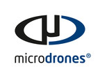 Dr. Mohamed Mostafa, Director of Microdrones mdSolutions Team, at the Microdrones Booth, Intergeo Hall 6.1, IAS.A050