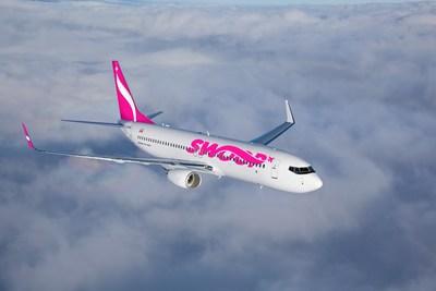 Swoop fait son entrée sur le marché canadien des transporteurs à très bas tarifs. (Groupe CNW/WestJet)