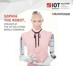 Humanoid Robot Sophia, Speaker in the Blockchain Forum at the IoT Solutions World Congress