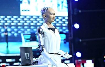 Sophia the Robot (PRNewsfoto/Fira de Barcelona)