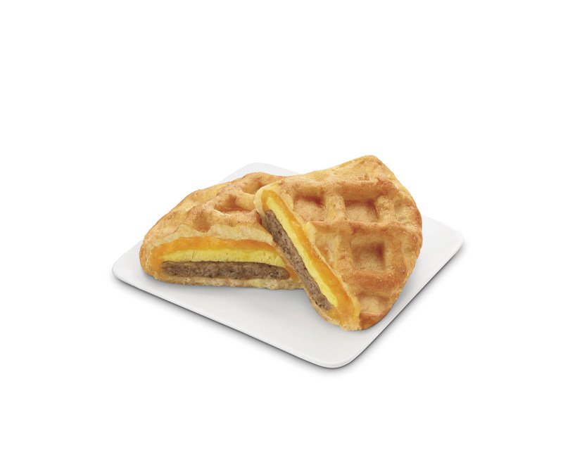 Breakfast just got better at 7-Eleven® stores with the introduction of the sweet and savory Pillsbury® Stuffed Waffle, served hot out of the oven. Developed and co-branded with Pillsbury, the convenience retailer's first stuffed waffle combines a crispy, maple-flavored waffle on the outside and a fluffy egg omelet, savory pork sausage and cheddar cheese on the inside. Suggested retail price on the new exclusive stuffed waffle is $2.49.
