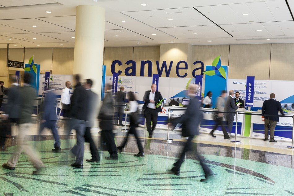 Canadian Wind Energy Association (CanWEA) - 33rd Annual Conference and Exhibition - October 3-5, 2017 (CNW Group/Canadian Wind Energy Association)