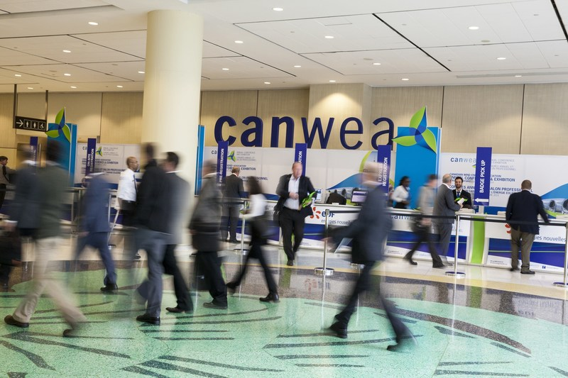 Association canadienne de l'énergie éolienne (CanWEA) - 33e Congrès annuel et salon professionnel - Du 3 au 5 octobre 2017 (Groupe CNW/Association canadienne de l'énergie éolienne)