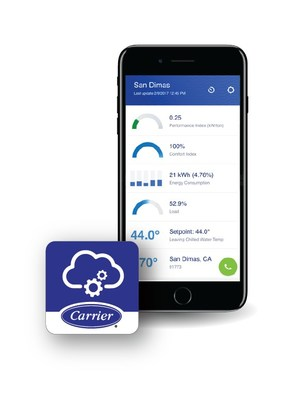 Carrier SMART Service Mobile App for iOS and Android