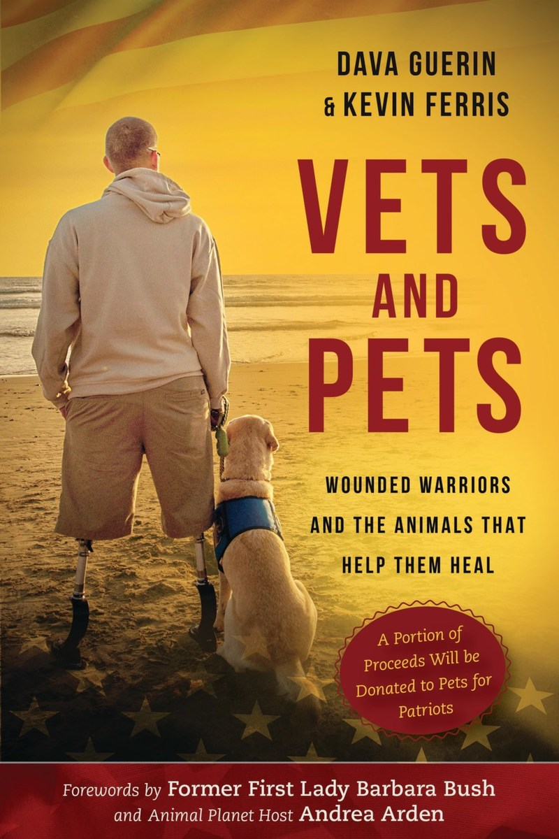 Vets and Pets: Wounded Warriors and the Animals That Help Them Heal (Skyhorse Publishing hardcover, $21.99, September 26, 2017)