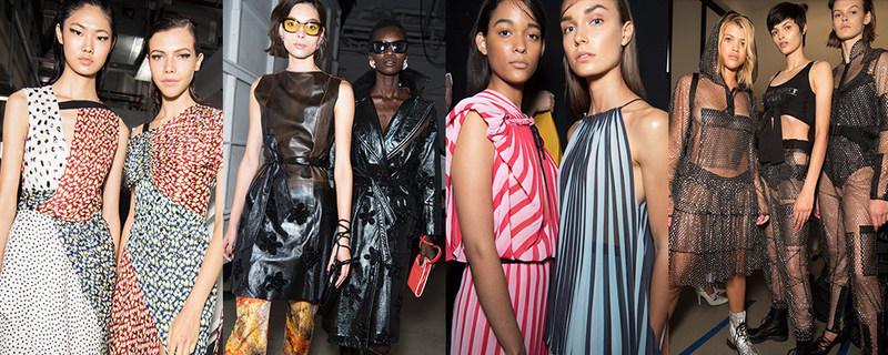 From left to right: Jason Wu, Creatures of the Wind, Tome, Jeremy Scott