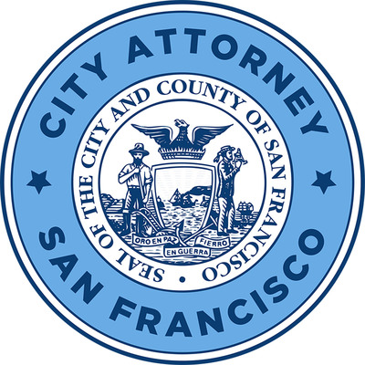 San Francisco City Attorney's Office's official seal. Dennis Herrera, City Attorney. (PRNewsFoto/City Attorney of San Francisco)