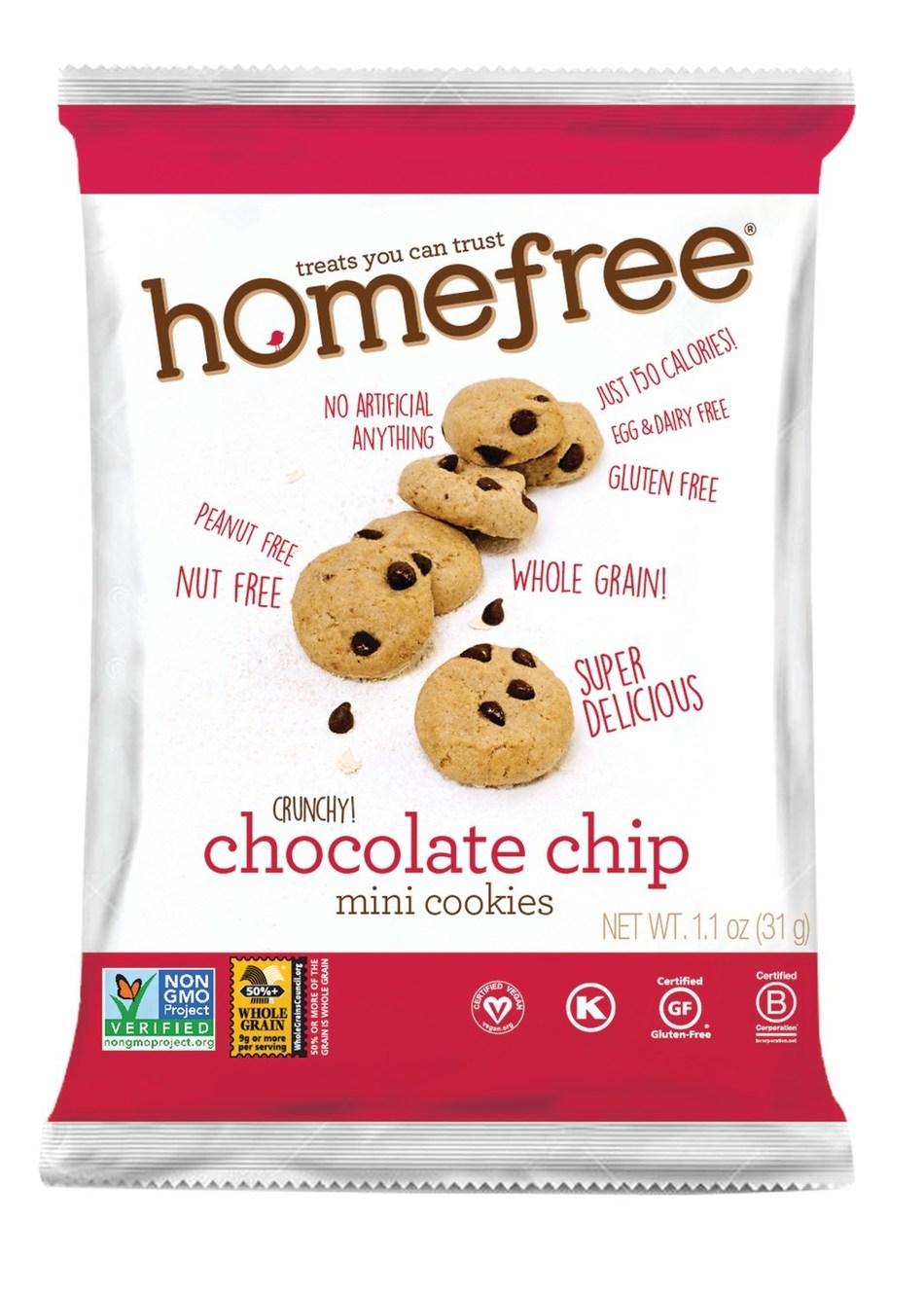 Homefree Chocolate Chip Mini Cookies