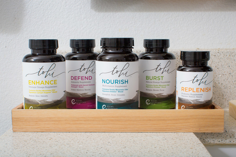 Rocky Mountain Oils introduces Tohi supplements