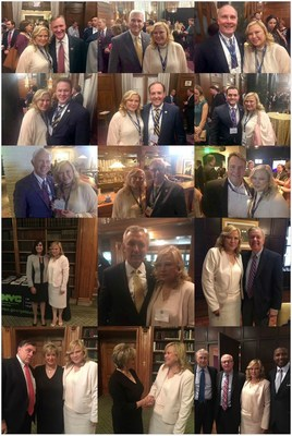 Chairman of Thompson Education Center meets with the congressmen and leaders in NY and DC