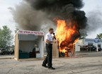 Fire Departments Set Fires to Teach about Fire Prevention
