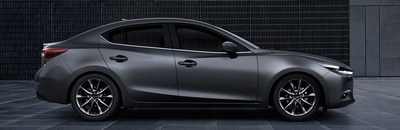 Seacoast Mazda has been diligently adding to its online research tools, this month comparing the 2018 Mazda3, shown above with the competing 2018 Hyundai Elantra.