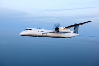 L'horaire des Fêtes comprend des vols aller-retour les mercredis 20 et 27 décembre, et le 3 janvier. Le service aérien est également offert à l'aéroport international d'Ottawa et à l'aéroport Billy Bishop de Toronto sur le même avion. (Groupe CNW/Porter Airlines Inc.)