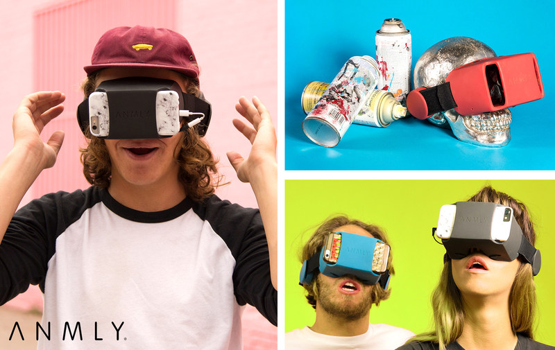 ANMLY Model A Smartphone VR system