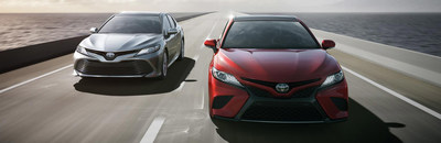 The 2018 Toyota Camry is available for test-drive at the Lexington Toyota showroom in Lexington, Massachusetts.