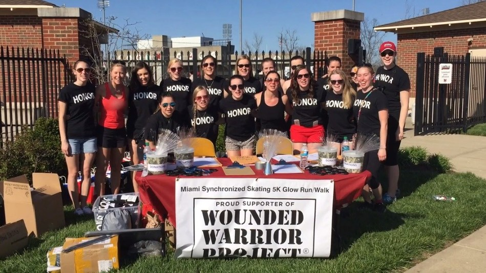 "Participants in the Student Ambassadors ""Honor Their Courage"" campaign will receive access to their own personalized fundraising page and numerous resources, including WWP literature, customizable flyer and poster templates, a press release template, logos, graphics, and social media images."