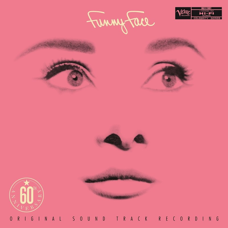 "Available September 29 to celebrate the 60th anniversary of the classic Audrey Hepburn/Fred Astaire musical film, ""Funny Face,"" Verve Records/UMe is releasing an expanded version of the colorful soundtrack featuring, for the first time ever, all the songs from the beloved romantic comedy resequenced in the order in which they're heard in the film."