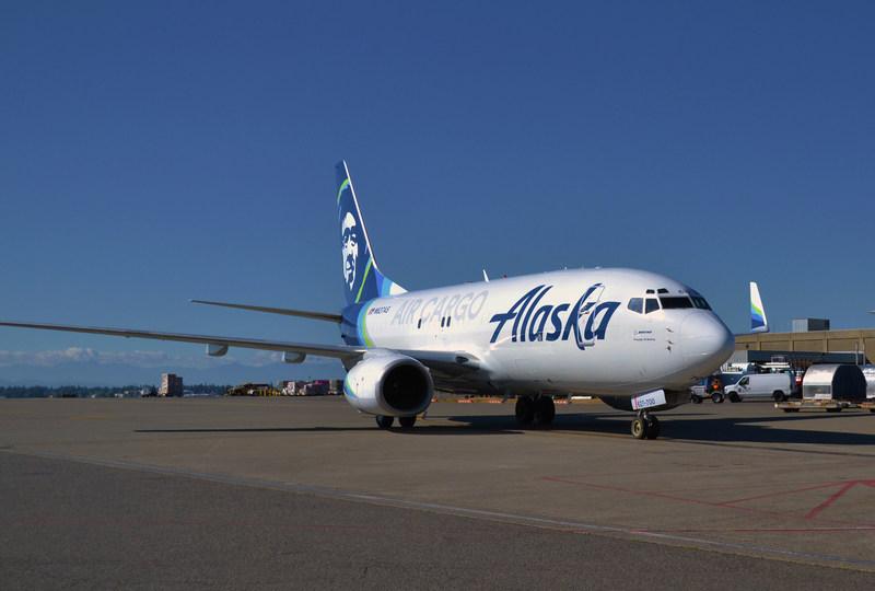 Alaska Air Cargo introduces world's first converted 737-700 freighter