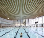 LMLGA -- Lower Mainland Local Government Association: City of Surrey for the Grandview Heights Aquatic Centre. Courtesy: Ema Peter Photography (CNW Group/Canadian Wood Council for Wood WORKS! BC)