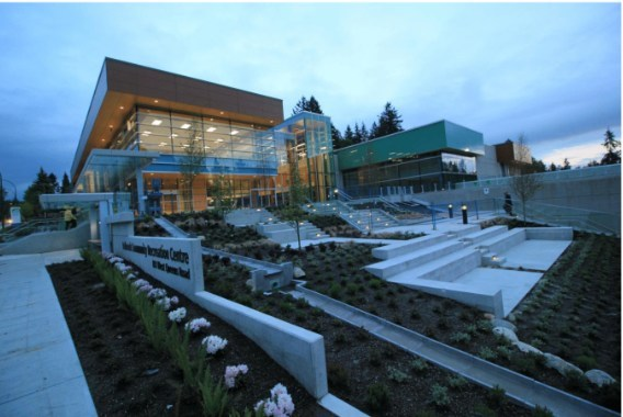 LMLGA -- Lower Mainland Local Government Association: District of North Vancouver for the Delbrook Community Recreation Centre (CNW Group/Canadian Wood Council for Wood WORKS! BC)